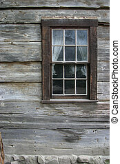 rústico, 1, janela
