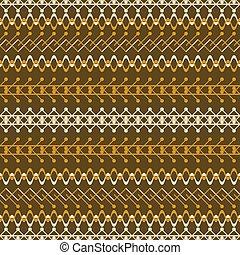 rústico, marrom, laranja, seamless, padrão