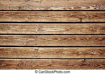 rústico, tablillas madera, plano de fondo