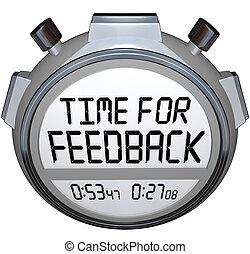 rückkopplung, suchend, comments, zeitgeber, wörter, zeit,...