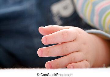 ręka, dzieci