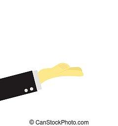 ręka, handlowiec