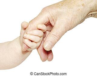 ręka niemowlęcia