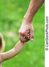 ręka, rodzic