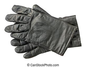 rękawiczki, skóra