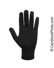 rękawiczki, zima, odizolowany