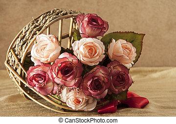 růže, květiny