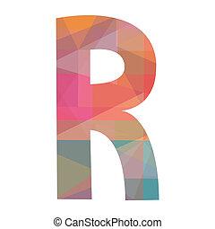 R alphabet