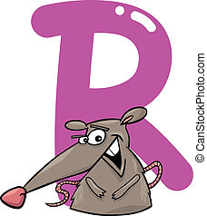 R for rat