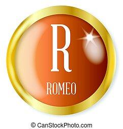 r, romeo