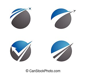 R050717 - Faster Logo Template vector icon illustration ...