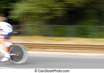 raça bicicleta