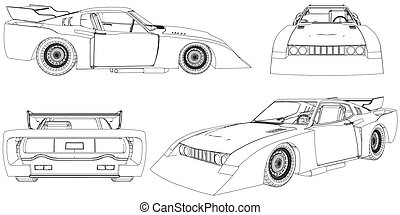 raça carro