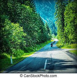 raça, motocicletas