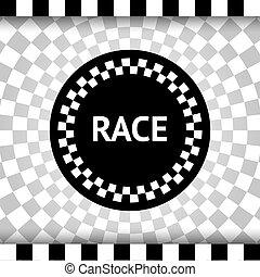 raça, quadrado, fundo
