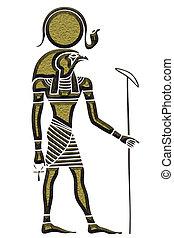 Ra - God of the Sun - Image of the Ra - God of the Sun - God...