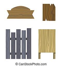 raad, tekens & borden, gedaantes, anders, houten