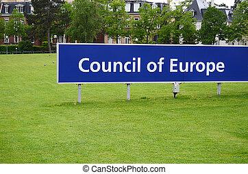 raad, van, europa, in, straatsburg