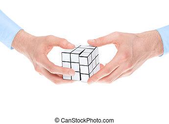 raadsel, het oplossen
