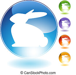 Rabbit Crystal Icon