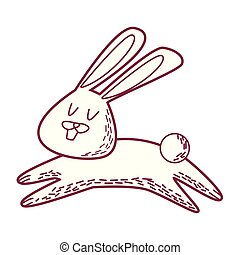 rabbit cute cartoon