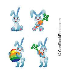 Rabbit Easter Vector Illustration