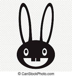 rabbit image icon