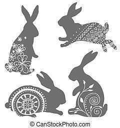 Rabbit vector 1