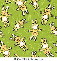 rabbits pattern