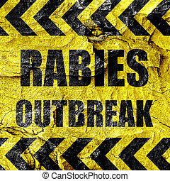 rabies, virus, concetto, fondo
