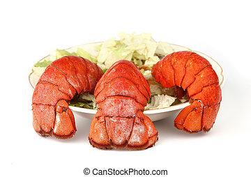 rabo, lagosta