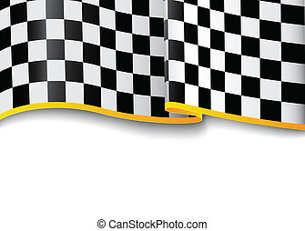 Race background. Checkered