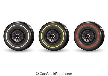 race car tyre