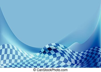 race, checkered flag background vec