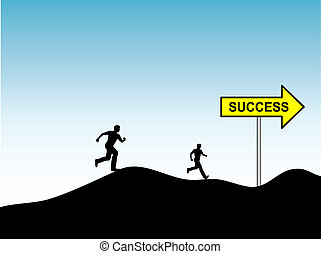 Race for success