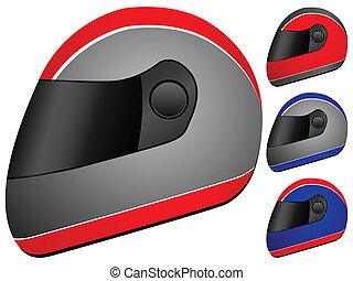 race helmet