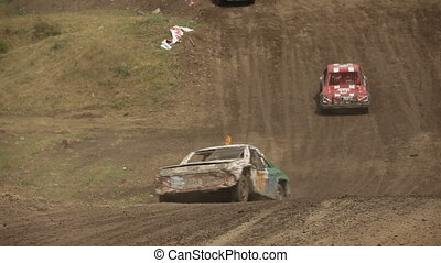Race in difficult conditions - Extreme off-road racing to...