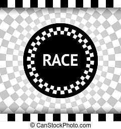 Race square background, vector illustration eps10