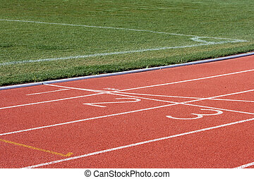 race track and field