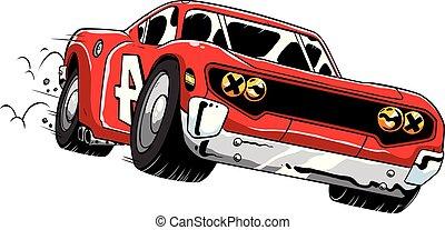 race voiture, expédier