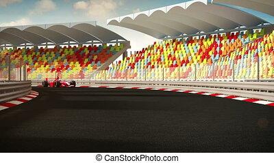 Racecars - Follow the leader!