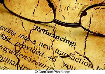 rachado, refinancing, forma