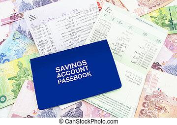 rachunek, książeczka bankowa, bank deklaracja