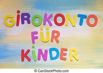rachunek, pojęcie, barwny, niemiec, słowo, beletrystyka, ...