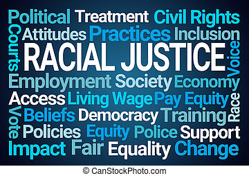 Racial Justice Word Cloud