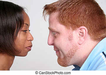 Racially Mixed Couple