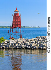 Racine North Breakwater Lighthouse