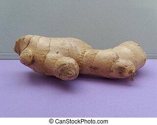 racine, nourriture, légumes, gingembre