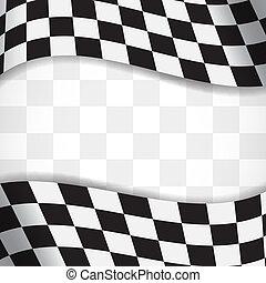 Racing background. EPS10 vector