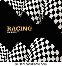 Racing Background. Vector